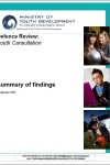 def review youth consultations summary of findings