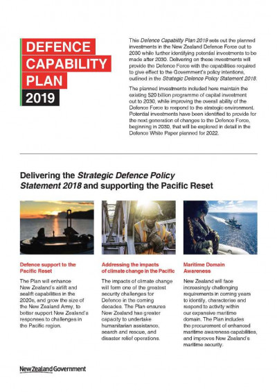Defence Capability Plan 2019 A5 Infographic Page 1